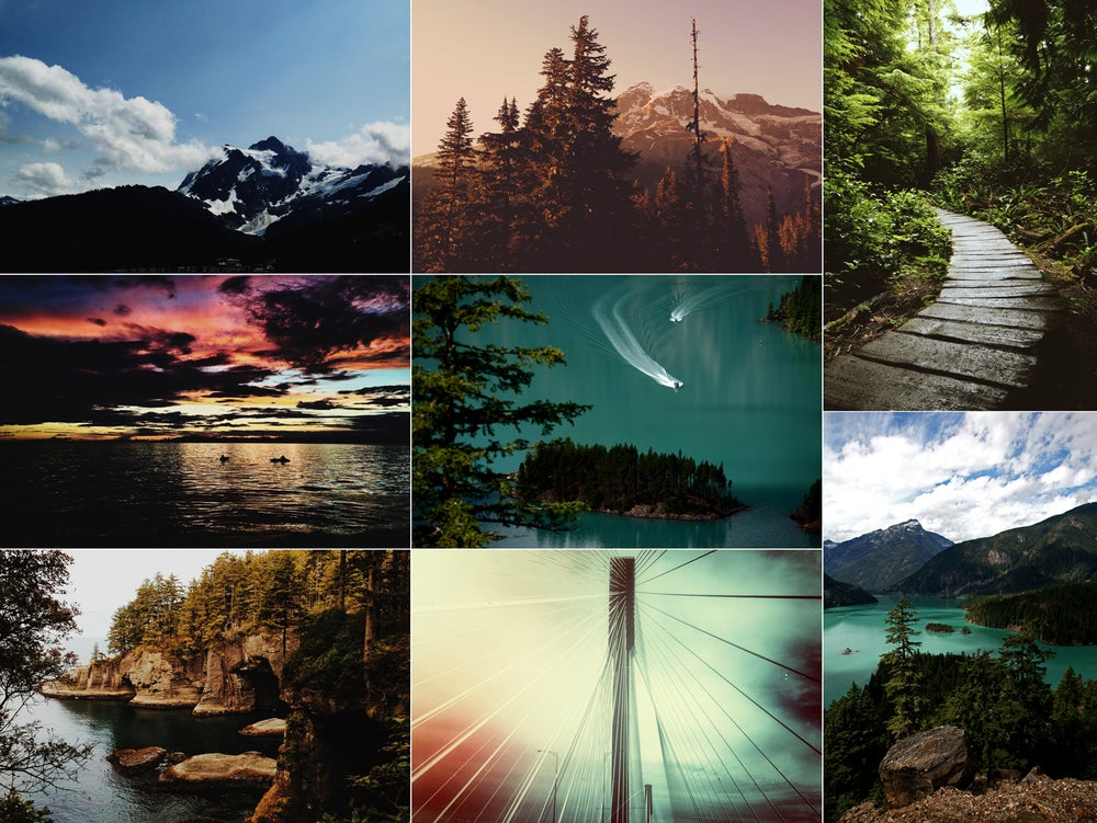 Image of Pacific Northwest Print Pack C by Ryan Russell