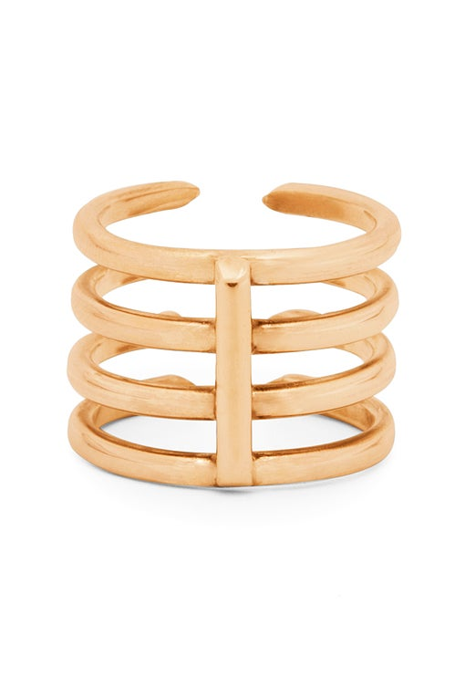 Image of Claw Ring 4 Gold or Rosé