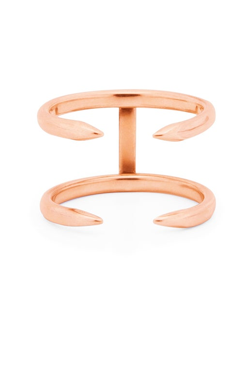 Image of Claw Ring 2 Gold or Rosé
