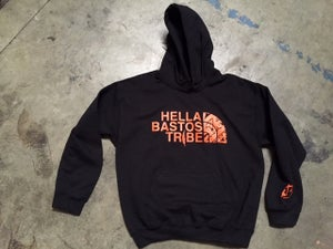 Image of A TRIBE CALLED HB HOODIE (Black/ Orange)
