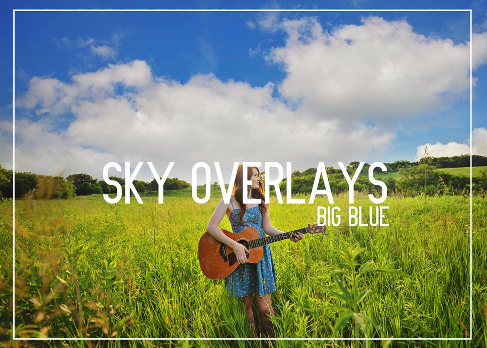 Image of SKY OVERLAYS - BIG BLUE