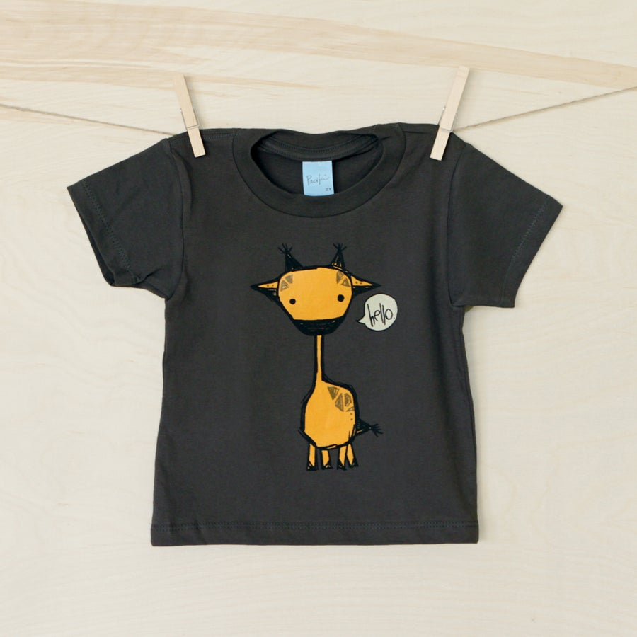 "Image of ""Marty the Giraffe"" Toddler Tee"