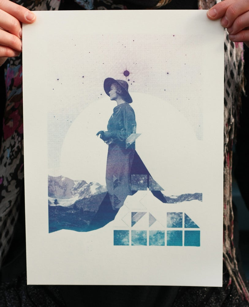 Image of Far off Place - Screen Print