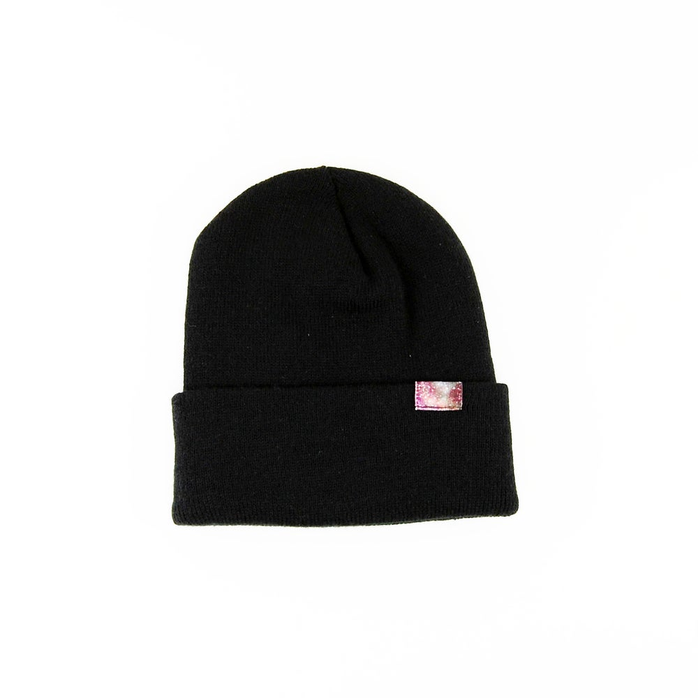 Image of Starship Galaxy Beanie Black