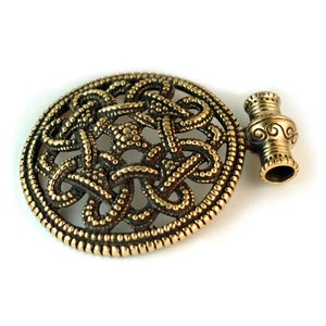 Image of SCANDINAVIAN FIBULA : VIKING FIBULA