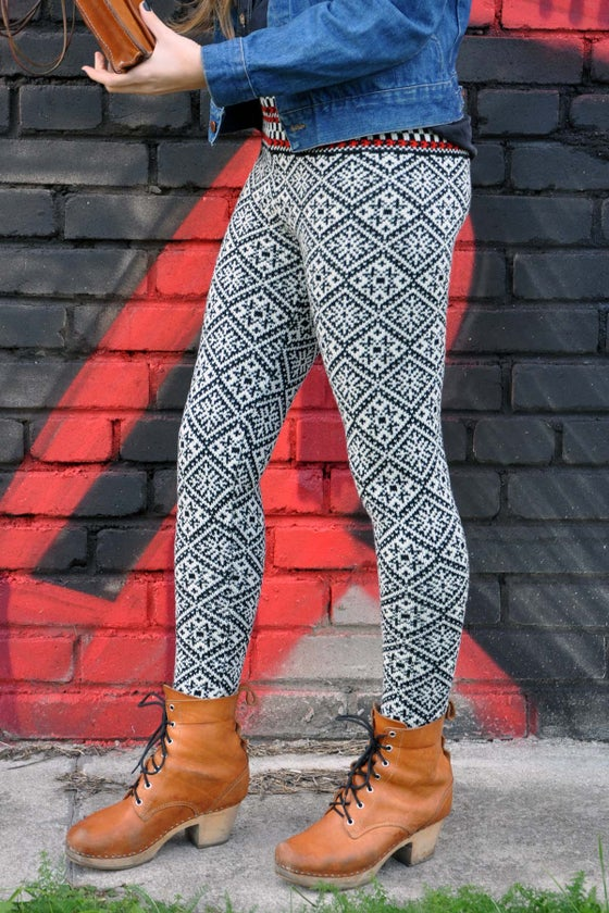 Image of WOOLEN LEGGINGS Troi