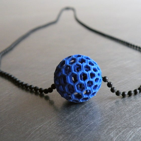 Image of 3D printed bead BEHAVE