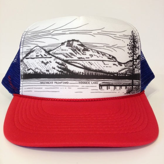 Image of Donner Lake Trucker Hat