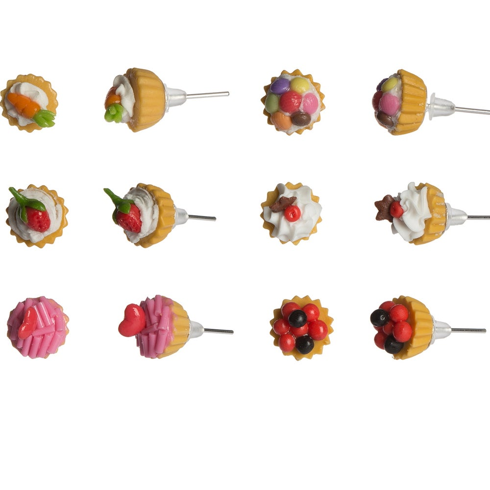Image of Teeny Tiny Cupcake Dream Earrings