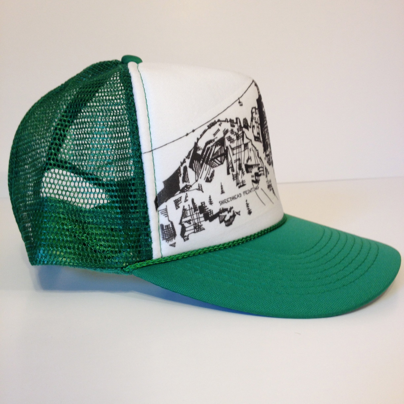 Tram trucker hat shredhead printing jpg 1000x1000 Shred head hat bb4ff1c194a6