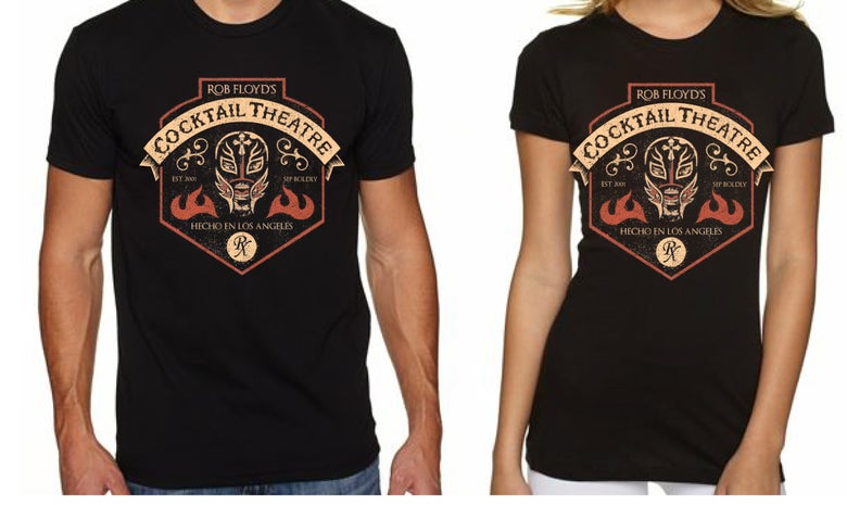 Image of Cocktail Theater El Luchadore T-Shirt