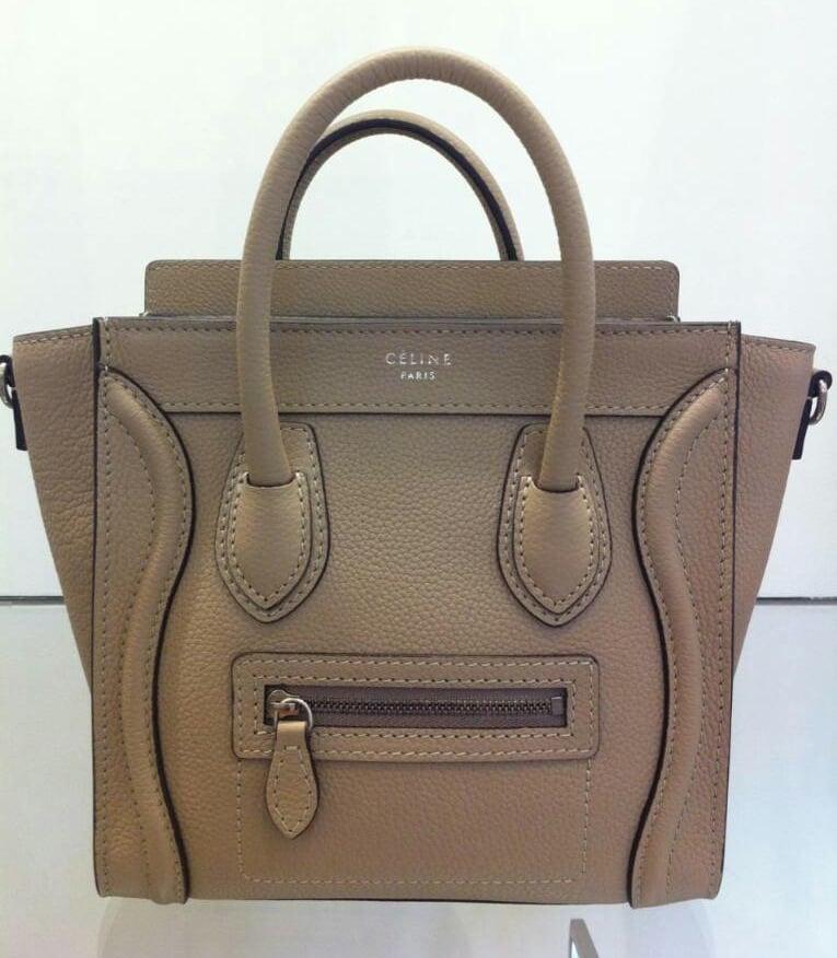 Uniquely Chic — Celine NANO Luggage e8148efad7241