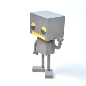 ROBOT Collectible Toy - Matt Q. Spangler Illustration