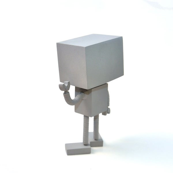 ROBOT Collectible Toy - Matt Q. Spangler Illustration