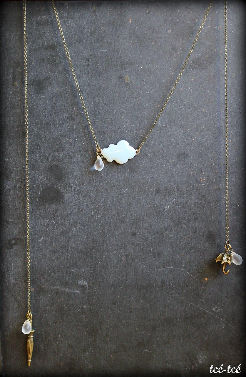 """Image of collier """"Après la pluie..."""""""