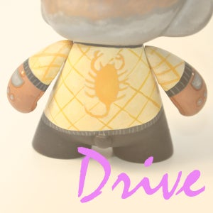 Drive Munny - Matt Q. Spangler Illustration