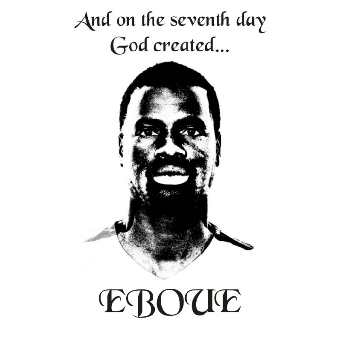 Image of EBOUE 7th DAY (white and violet)