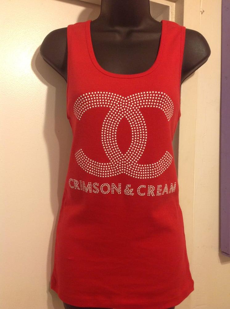 Image of Crimson & Cream