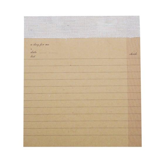 Image of Kraft Lined Desk Pad