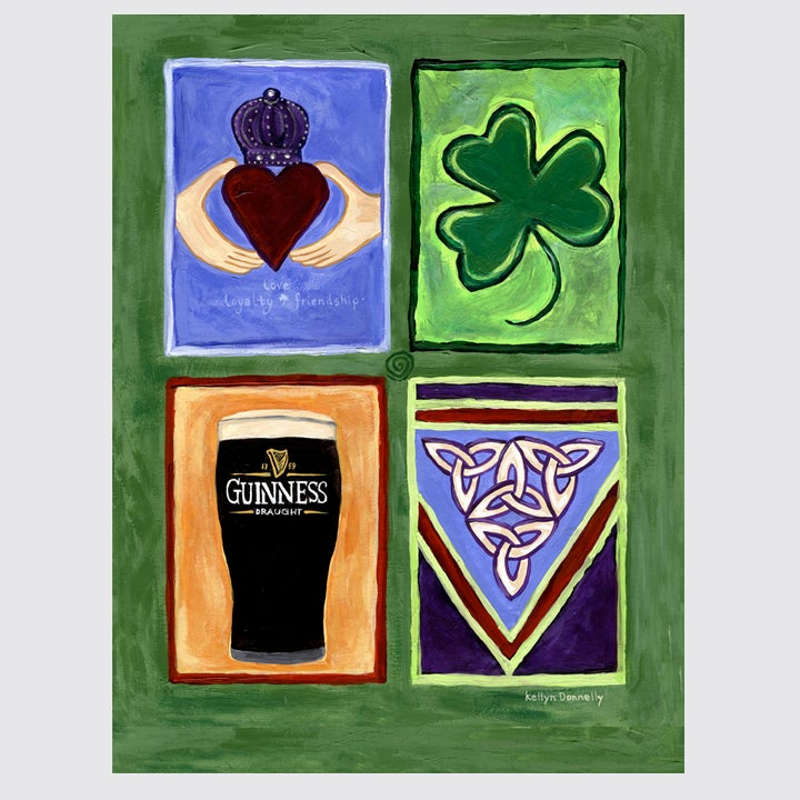 Image of irish blessings: print