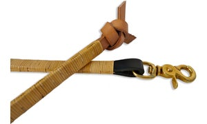 Image of CANE & LEATHER KNOT