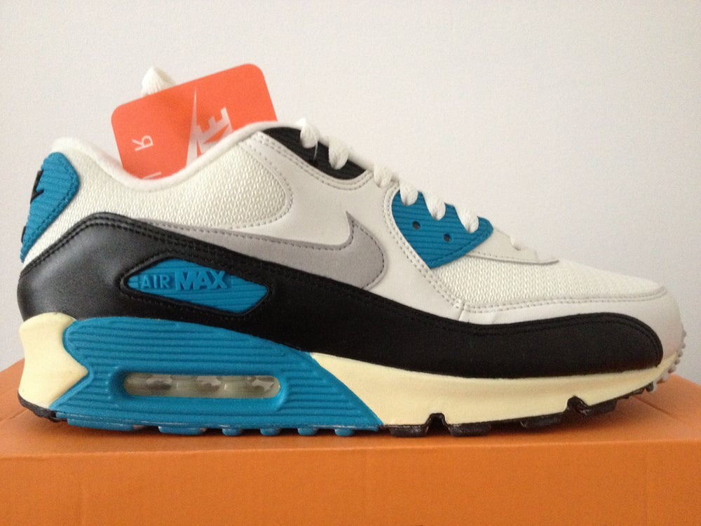 sports shoes 63574 6ccbb Image of NIKE AIR MAX 90 LASER BLUE OG VINTAGE 2014 ...
