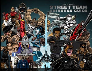 Image of StreetTeam Universe Guide Physical Copy