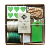 Image of Dark Green Tag + Twine Kit
