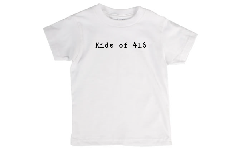 Kids of 416 T-Shirt *White