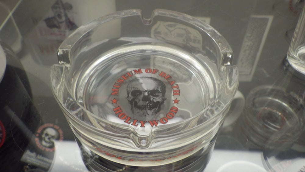 Image of MO.D. Logo Glass Ashtray