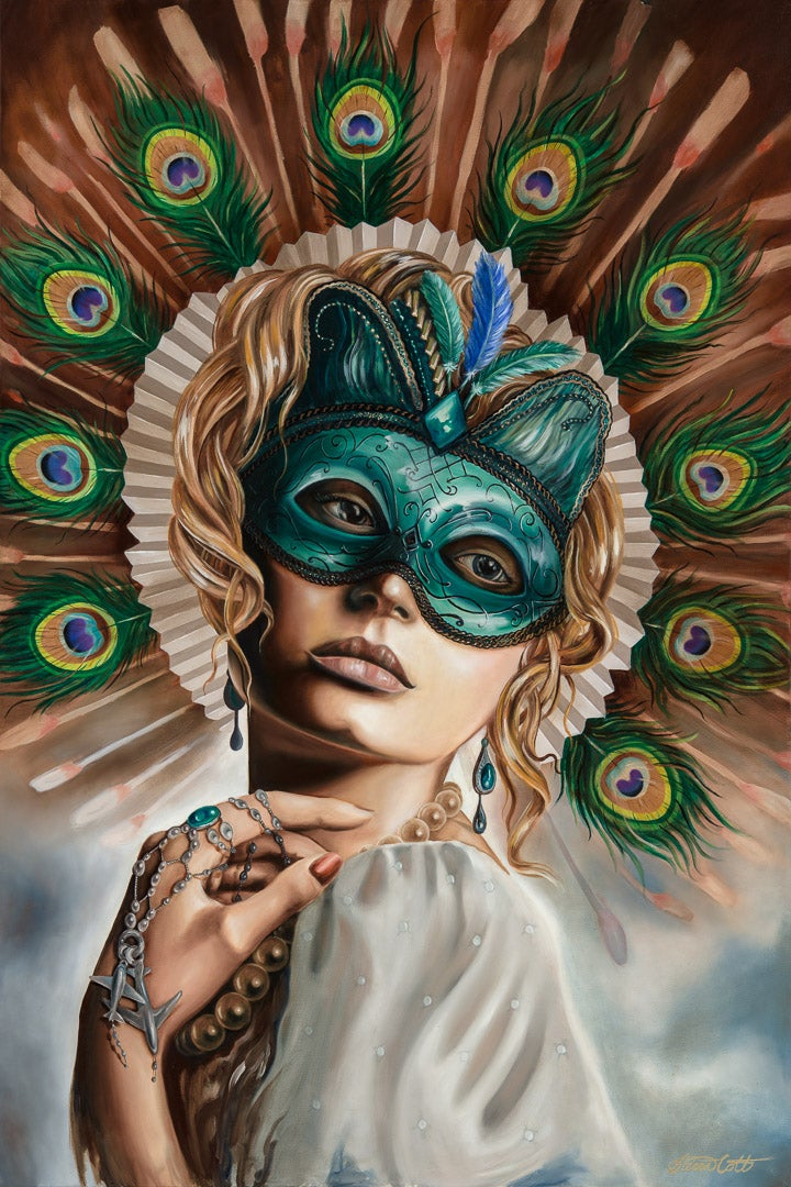 "Image of ""Masquerade"" print"