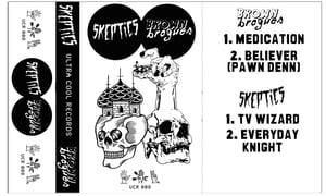 Image of BROWN BROGUES - SKEPTICS SPLIT TAPE PRE ORDER