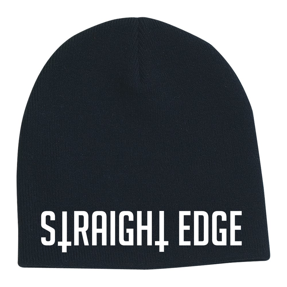 Image of Straight Edge Beanie