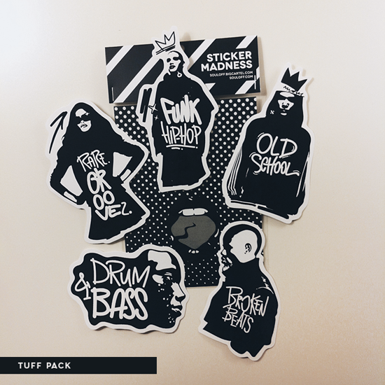Image of Sticker Packs Music People