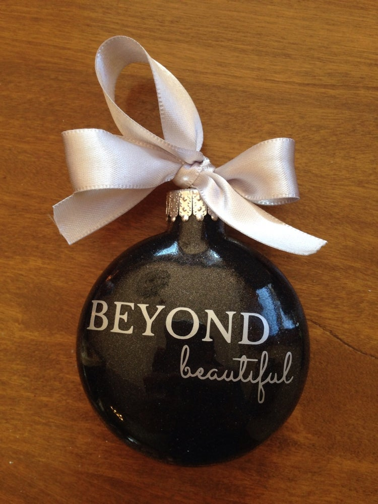 Image of Beyond Beautiful Design Ornament