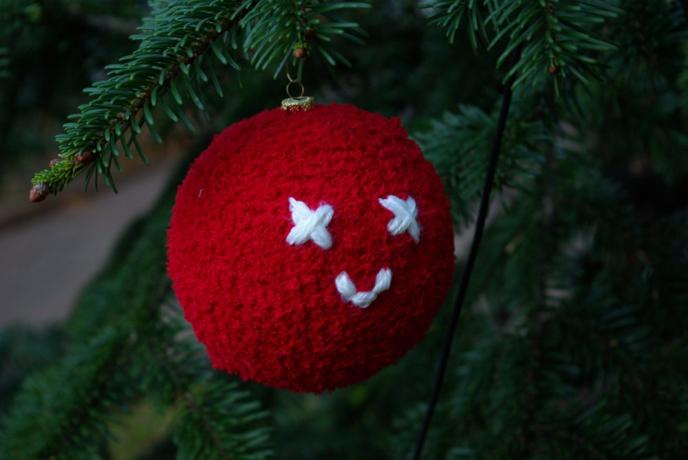 Image of Knuwu Christmas Ball Ornament