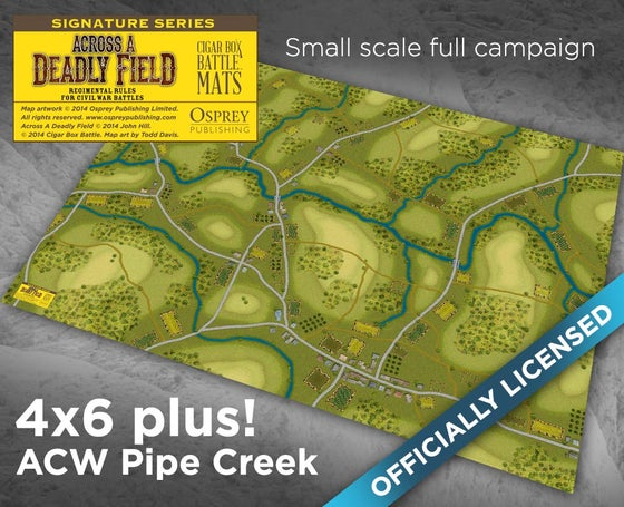 Image of ADF Pipe Creek Campaign -- 4'x6' plus -- #142