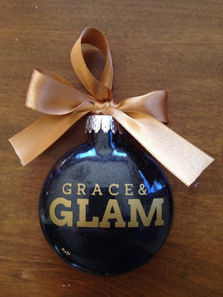 Image of Grace & Glam Design Ornament