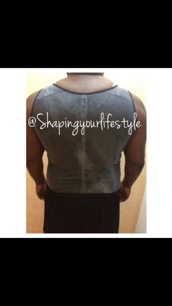 Image of Mens Vest Latex