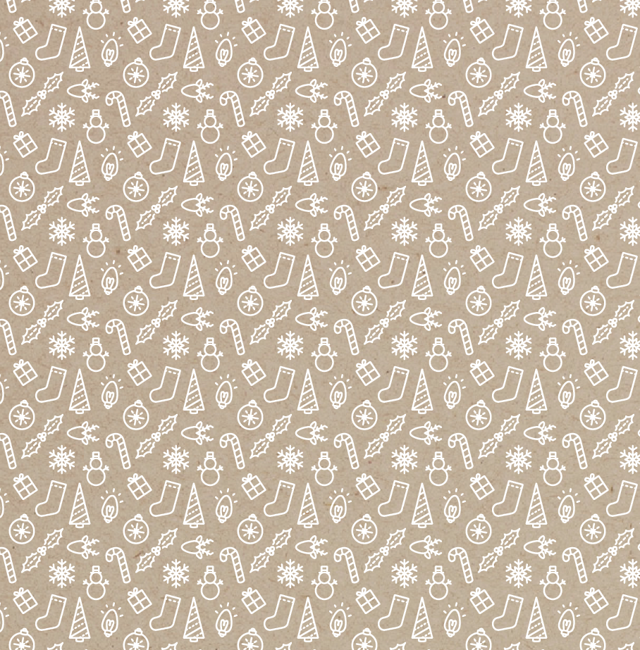 Image of Set of 3 Holiday Gift Wrap Sheets