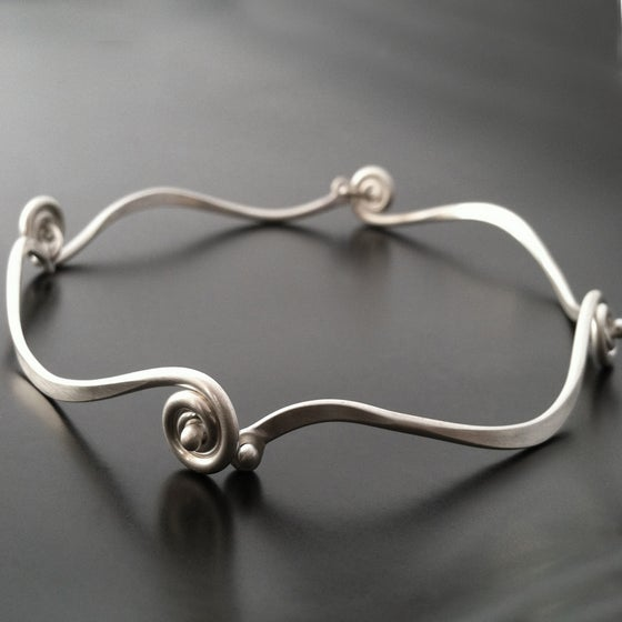 Image of Fiddlehead Bracelet