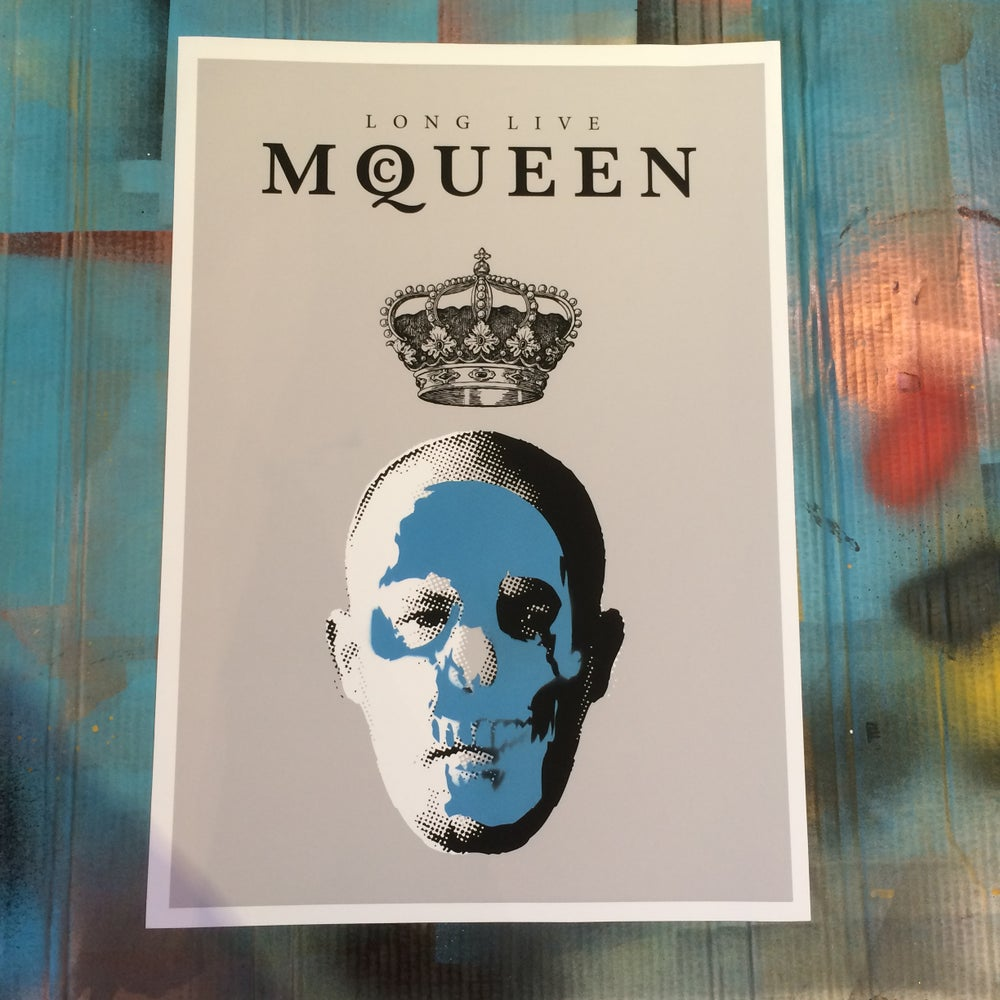 Image of LONG LIVE McQUEEN (damaged) By Ads