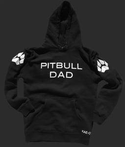 Pitbull Dad Hoodie