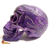 Image of Purple Blaze Skull