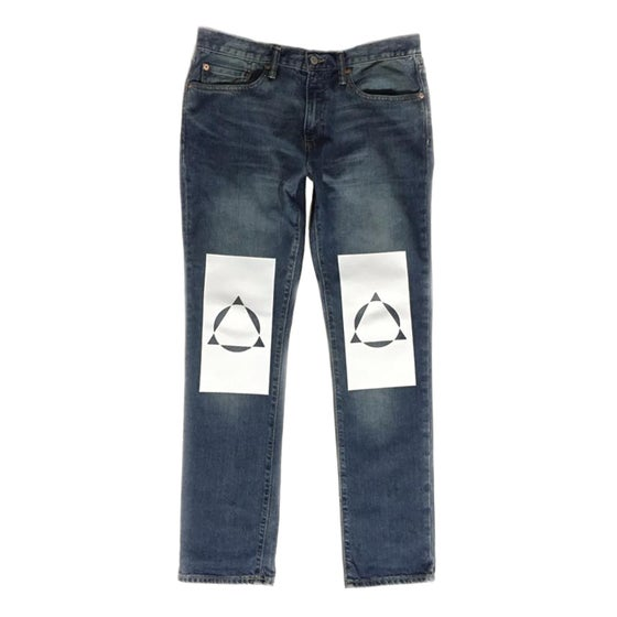 Image of fresh out blue denim