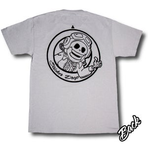 Image of Official Sticker Drop Squad Shirt - Silver