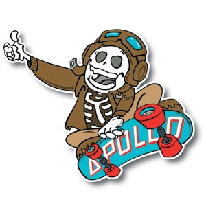Image of Sticker Drop x Apollo Cutts Collab Sticker