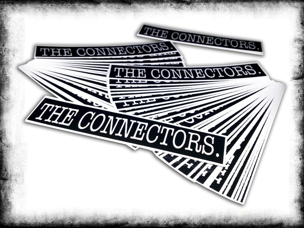 Image of The Connectors Logo Sticker