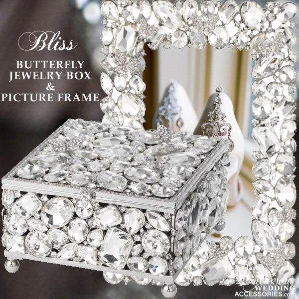 Luxurious Wedding Accessories | Champagne Flutes | Cake Sets — Bliss ...