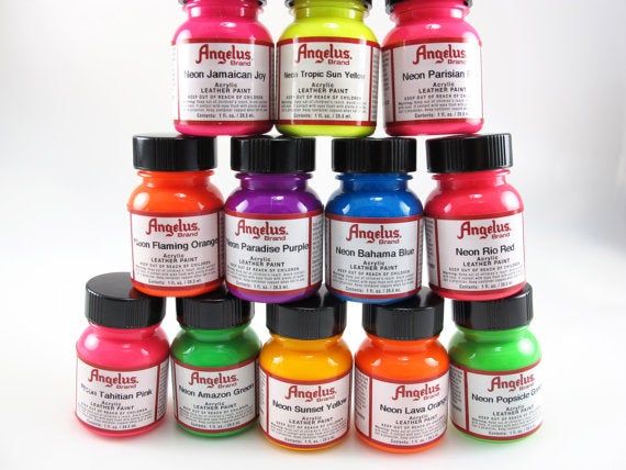 Image of Angelus Neon Farbe / Angelus Neon Paint